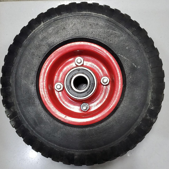 TROLLY WHEEL SOLID D20 RED BEARING #11