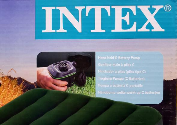 MATTRESS AIR INTEX 66967 39X75X8.75 WITH PUMP AP638