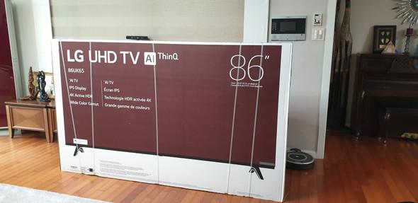 "TELEVISION LG 86"" 86UK6570PUB"