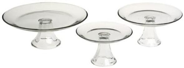 CAKE STAND GLASS ANCHOR 3PC PRESENCE CI8661643