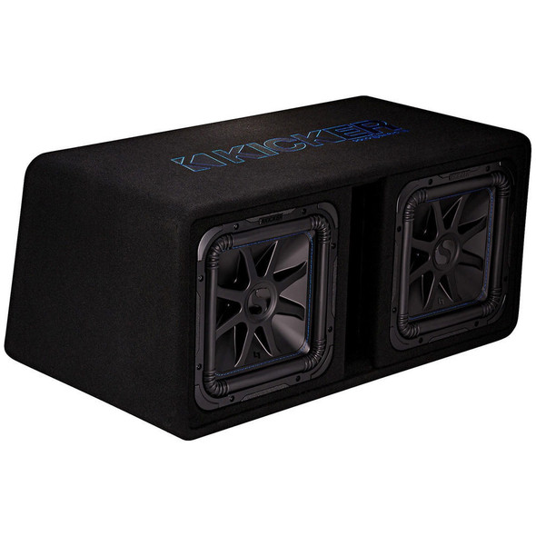 "SPEAKER BOX CAR KICKER 12"" 44DL7S122 DUAL L7S"