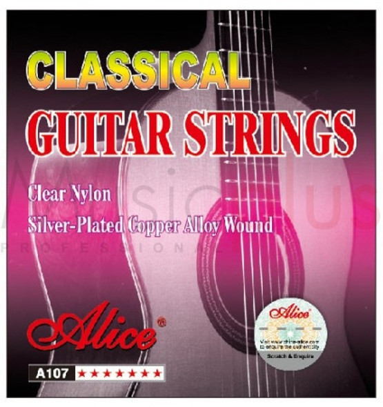 GUITAR STRING ALICE A107-N CLASSIC NYLON PACK