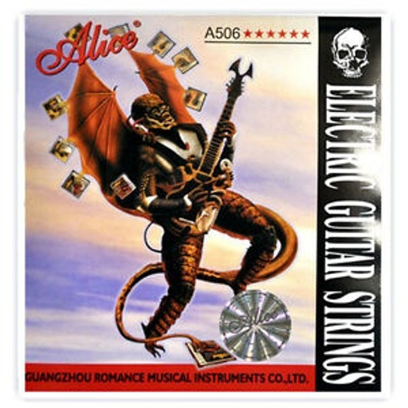 GUITAR STRING ALICE A506-SL PACK ELEC S/S