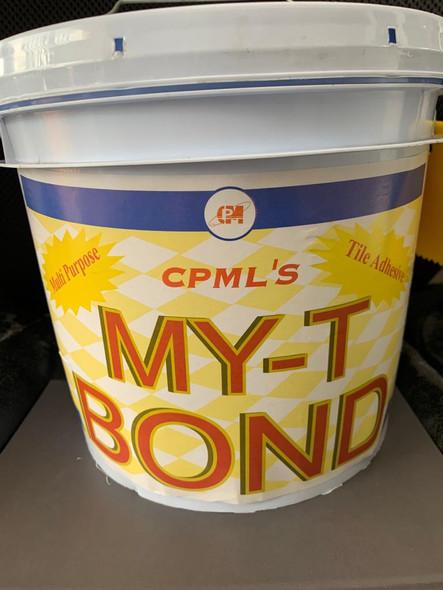 TILE ADHESIVE CPML MY-T BOND 1GAL/4KG