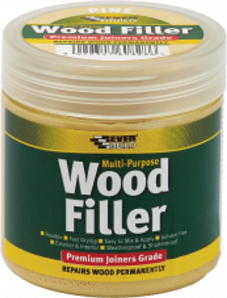 FILLER WOOD EVER BUILD LIGHT STAINABLE 250ML