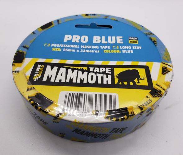 "TAPE MASKING 1"" PRO BLUE MAMMOTH EVER BUILD"