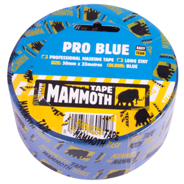 "TAPE MASKING 2"" PRO BLUE MAMMOTH EVER BUILD"