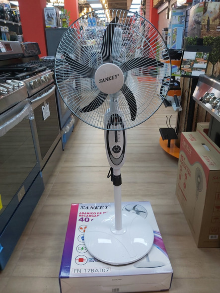 "FAN 16"" SANKEY FN-17BAT07 RECHARGEABLE FLOOR"