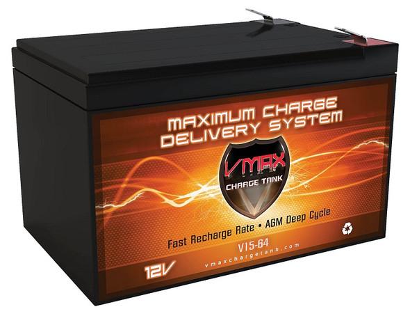 BATTERY VMAX CHARGE TANK V15 15AH 12V
