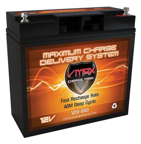 BATTERY VMAX CHARGE TANK V20 20AH 12V