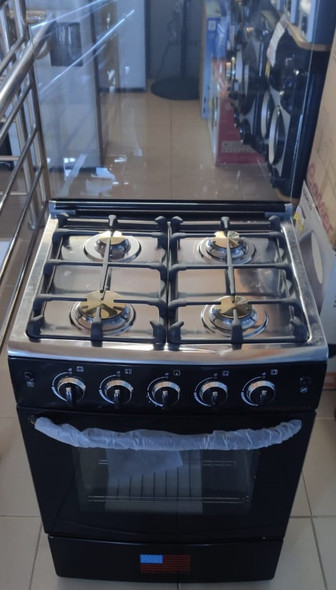 "STOVE 4 BURNER EMERALD 24"" BLACK"