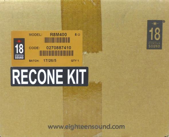 SPEAKER RECONE KIT 18SOUND R8M400