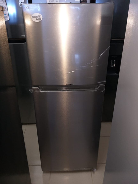 REFRIGERATOR MAGIC KING MRF-225W STAINLESS STEEL
