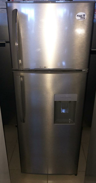 REFRIGERATOR MAGIC KING MRF-220D STAINLESS STEEL