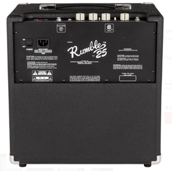 AMPLIFIER BASS GUITAR FENDER RUMBLE 25 2370200000