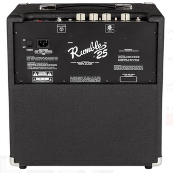 AMPLIFIER BASS GUITAR FENDER RUMBLE 25 2370200000