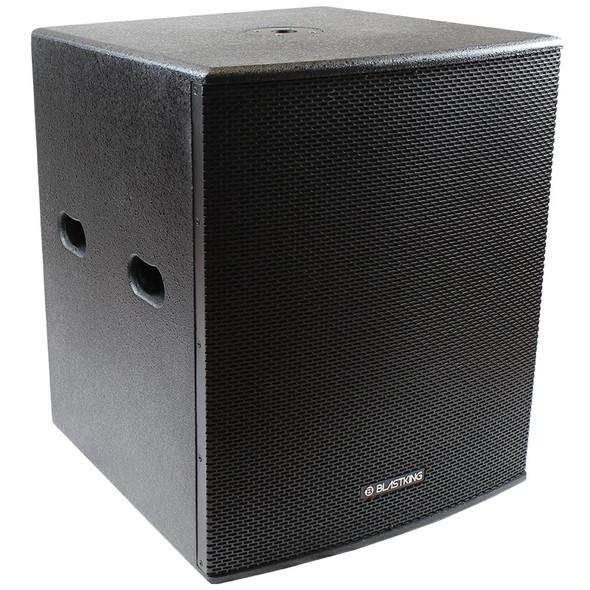 "SPEAKER BOX BLASTKING 18"" I77-BPS18II (POWERED) EACH"