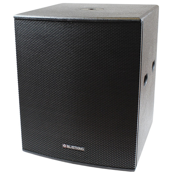 "SPEAKER BOX BLASTKING 18"" I77-BPS18II (POWERED) EACH"