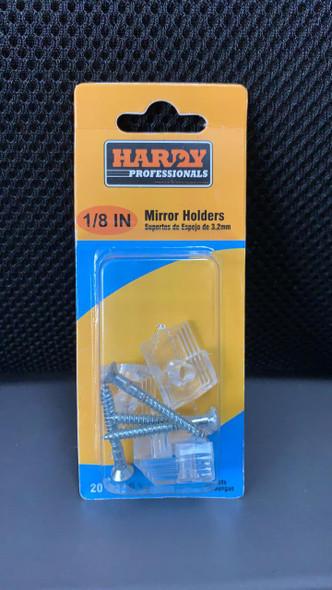 MIRROR CLIP CORNER 4PCS SET HARDY PLASTIC