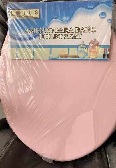 TOILET SEAT PLASTIC LOTUS 90599 PINK