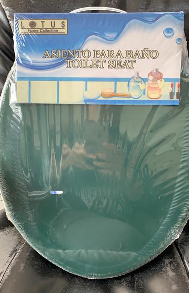 TOILET SEAT PLASTIC LOTUS 90602 DARK GREEN