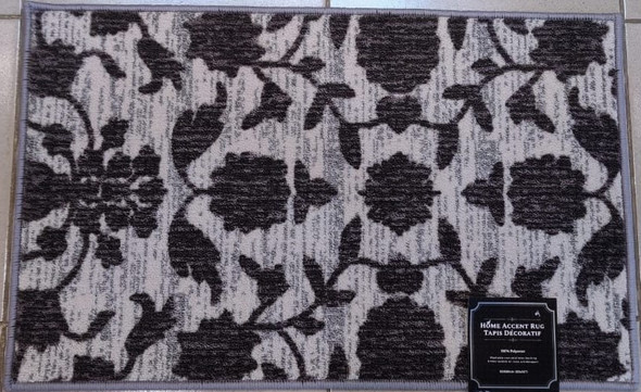 "FLOOR MAT 20 X 32"" HOME ACCENT RUG 50X80CM"