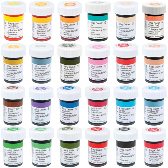 BAKING WILTON ICING COLOR (COLOUR) 28.3G 1oz