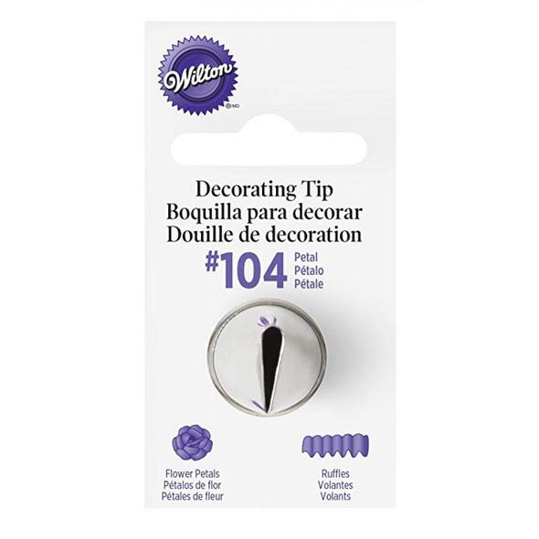 BAKING WILTON TIP #104 418-104