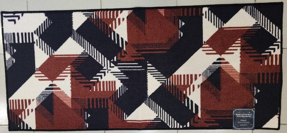 "FLOOR MAT 26 X 59"" HOME ACCENT RUG 66X150CM"
