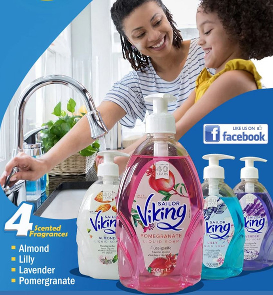 VIKING LIQUID SOAP 500ML
