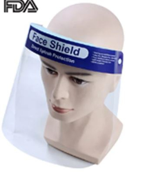 FACE SHIELD DIRECT SPLASH PROTECTION R-002