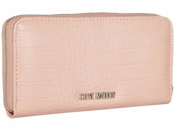 Purse Steve Madden Blush Bcash Checkbook Zip Around Wallet