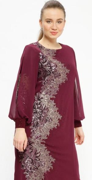 Dress Evening Arikan Plus Size With Sequin