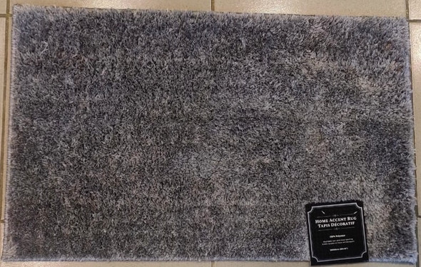 "FLOOR MAT 20 X 32"" HOME ACCENT RUG 50X80CM SHAGGY"