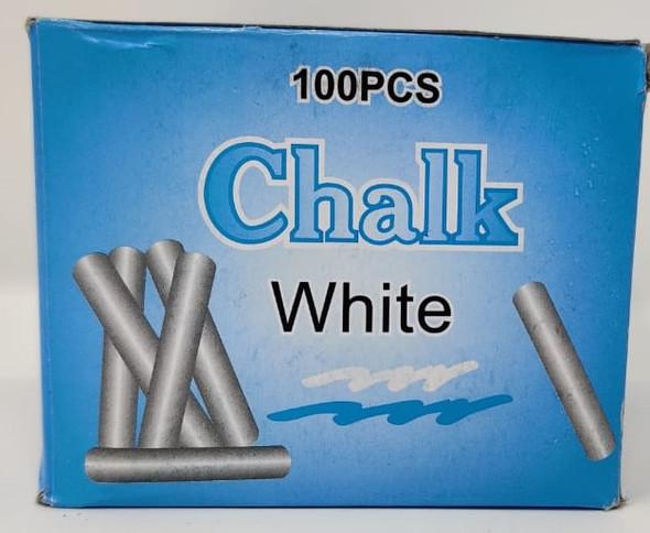 CHALK WHITE 100PCS PACK B746