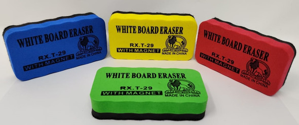 STATIONERY WHITEBOARD ERASER SMALL MAGNETIC RX.T-29