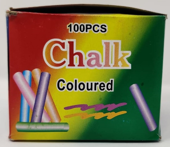 CHALK MIX COLOR 100PCS PACK MTDY520