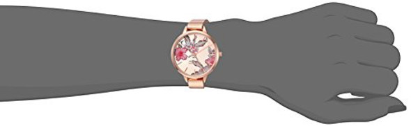 Watch Women Nine West NW/2044RGPK Rose Gold-Tone and Blush Pink Strap