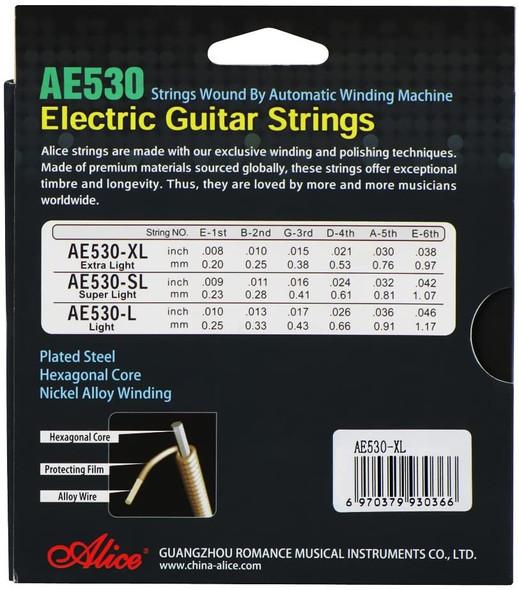 GUITAR STRING ALICE AE530-SL ELECTRIC SUPERLI