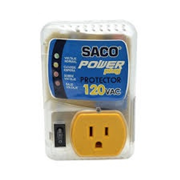 ADAPTER VOLTAGE SACO 04-FR-13166 110V PROTECTOR