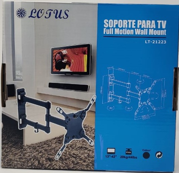 "TV WALL BRACKET 13""-42"" LT-21223 LOTUS"