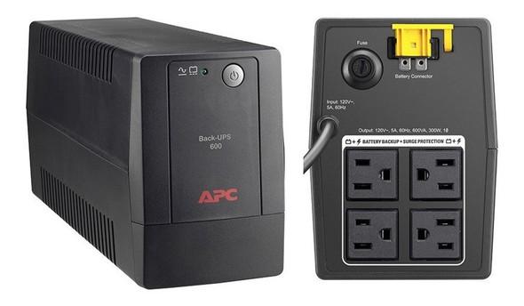 COMPUTER UPS APC BX-600L-LM 600VA BLACK