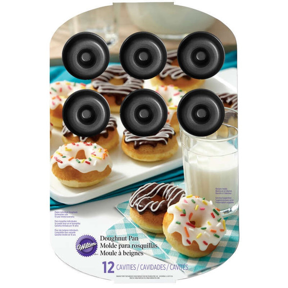 DOUGHNUT MINI PAN WILTON 2105-2390 12 CAVITIES