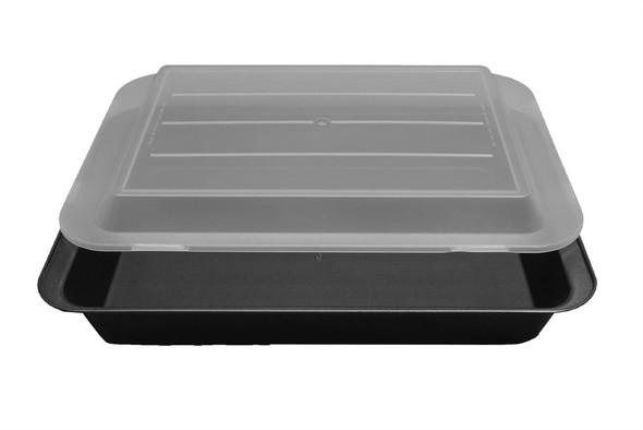 "CAKE PAN BAKER'S TIP 2001-4584  13""X9""X2"" W/LID"