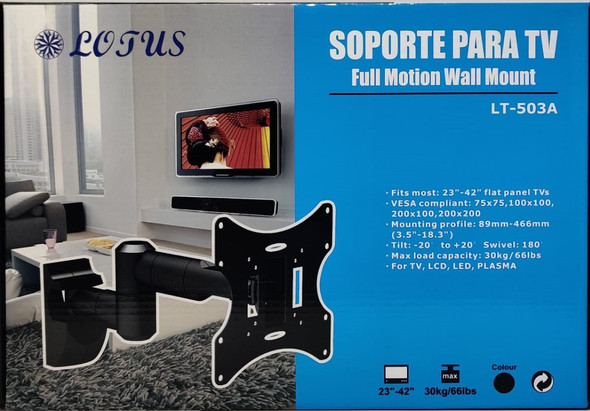 "TV WALL BRACKET 23""-42"" LT-503A LOTUS"