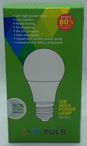 BULB LED 15W E27 85-265V WHITE GREEN BOX SAVE