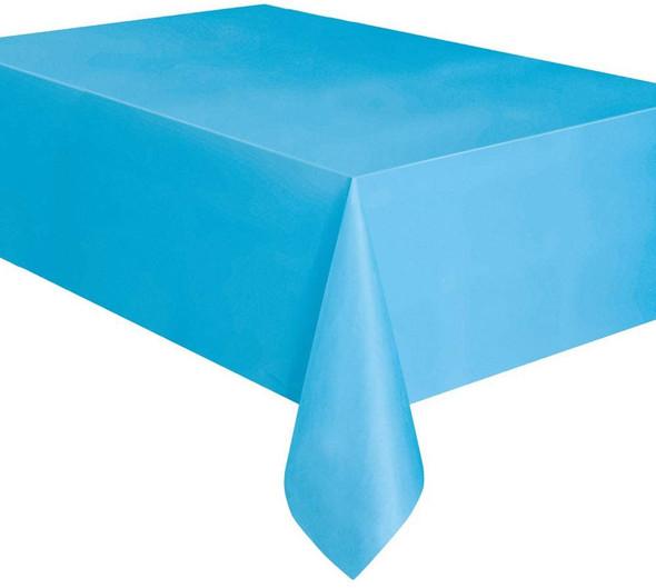 """PARTY PLASTIC TABLE COVER 54"""" X 108"""" 1.37M X 2.74M UNIQUE"""