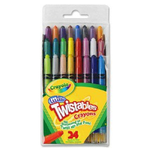 CRAYON CRAYOLA 24PCS PACK TWISTABLES