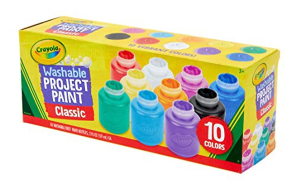ARTIST PAINT CRAYOLA WASHABLE 10 COLORS CLASSIC