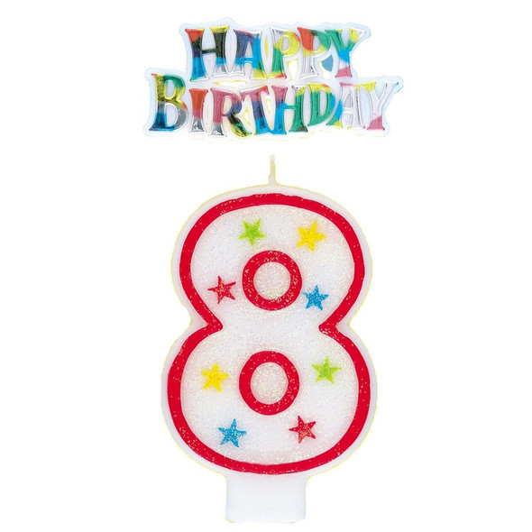 PARTY BIRTHDAY CANDLE NUMBERS UNIQUE